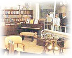 Walt Disney's office, displayed in the lobby