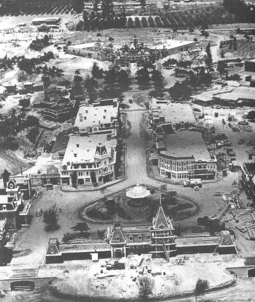 Disneylands history just disney disneyland under construction in 1955 freerunsca Choice Image