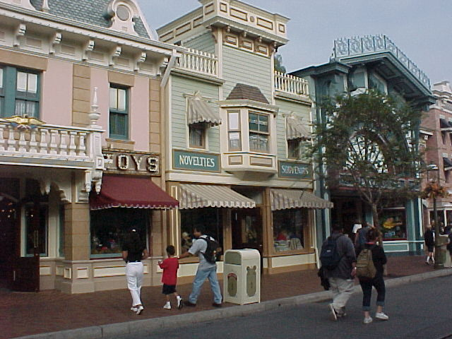 Main Street U S A Pictures Just Disney