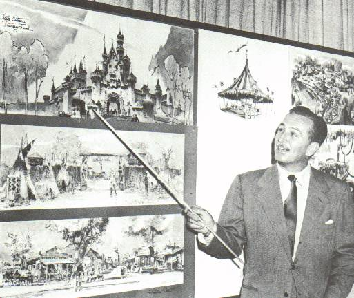 A history of the works of walt disney