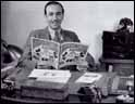 Walt Disney en su despacho © Disney