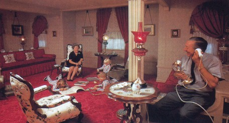 The Only Picture Of Walt With His Family In Apartment