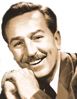 Walt Disney, first a failure, then a success