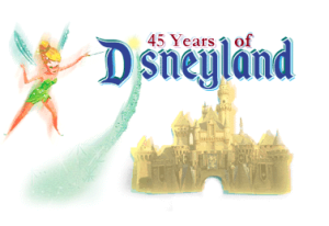 45 year of disneyland